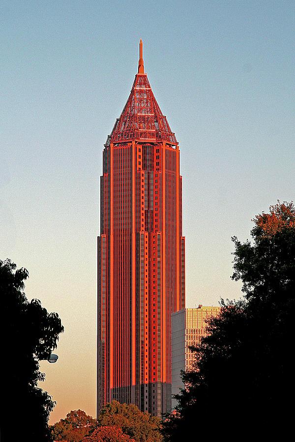 Skyscraper - Atlanta, Ga. by Richard Krebs