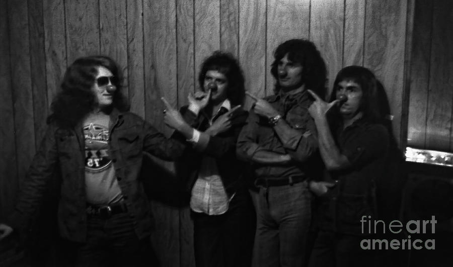 Slade at the Starwood - Hollywood - 1976 by Doc Braham