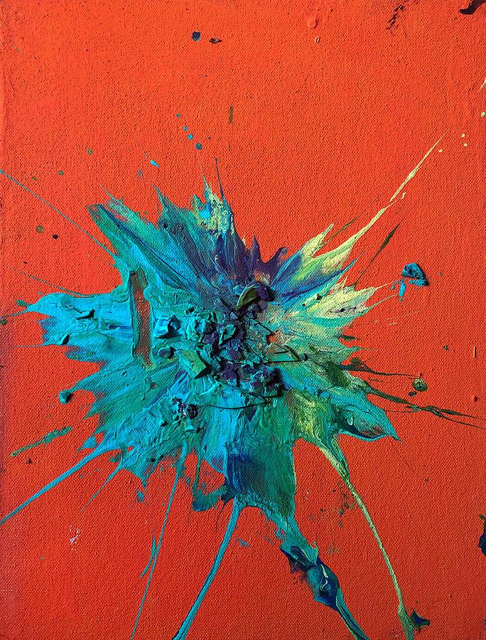 Organic Painting - Slam Painting #19 by Chris Crewe