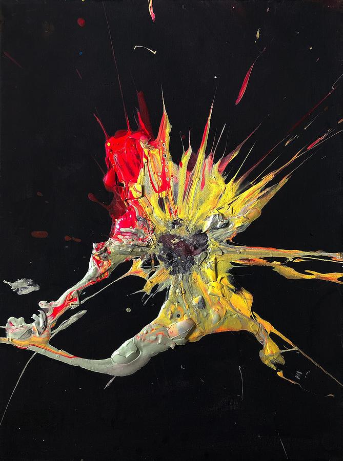 Dancer Painting - Sledgehammer Dancer by Chris Crewe