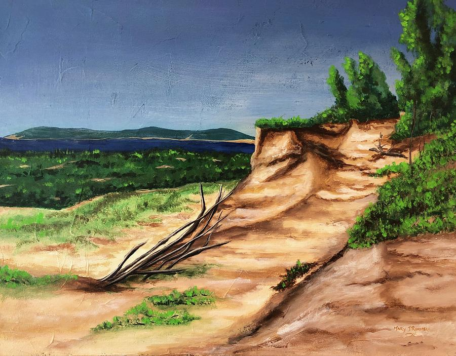 Sleeping Bear Dunes by Mary Rimmell