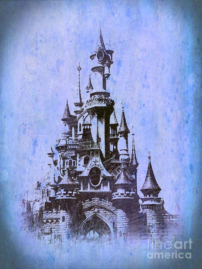 Sleeping Beauty Castle by Jurgen Huibers