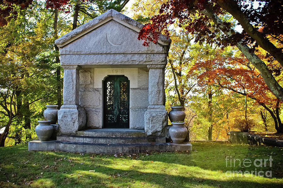 Sleepy Hollow- Lewis Mausoleum  by Colleen Kammerer