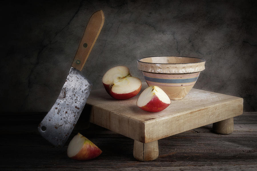 Sliced Apple by Tom Mc Nemar