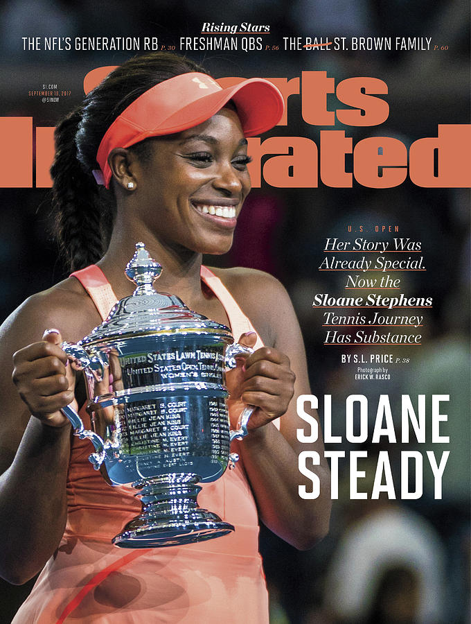 Sloane Steady Sports Illustrated Cover Photograph by Sports Illustrated