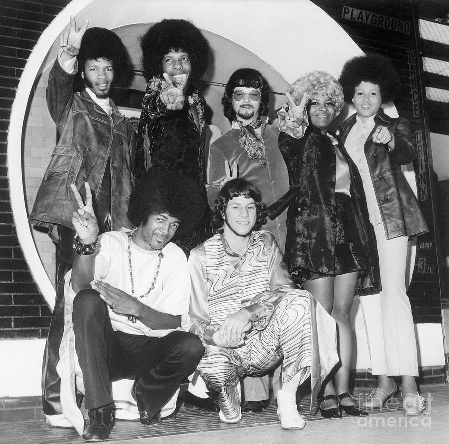 Sly And The Family Stone In London Photograph by Bettmann