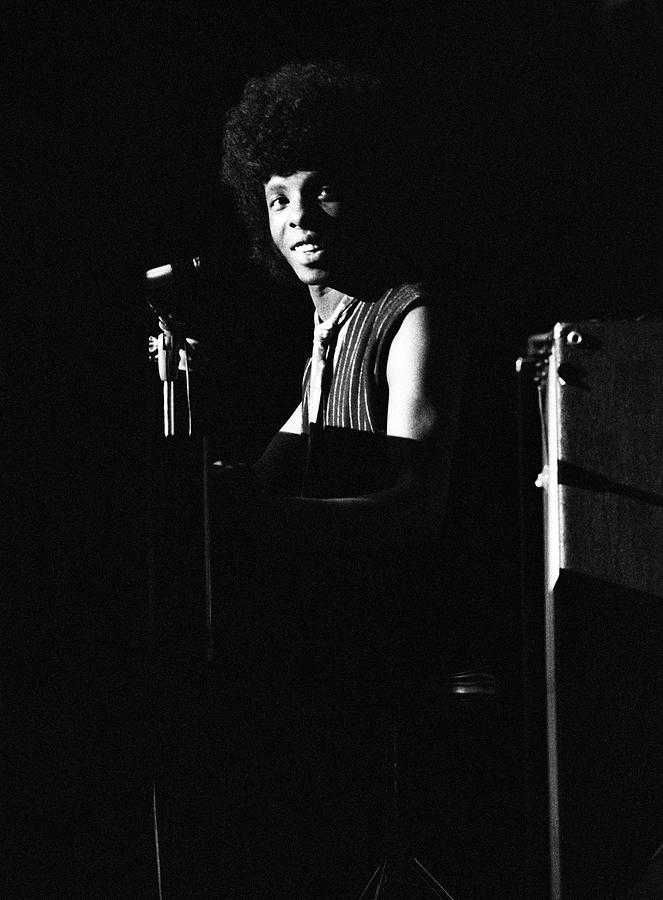 Sly Stone At The Piano Photograph by Tom Copi