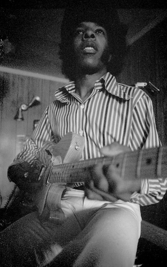 Sly Stone Portrait Photograph by Michael Ochs Archives