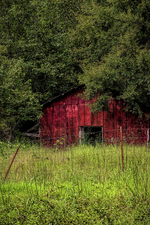 Small Barn 2 by Patricia Cale