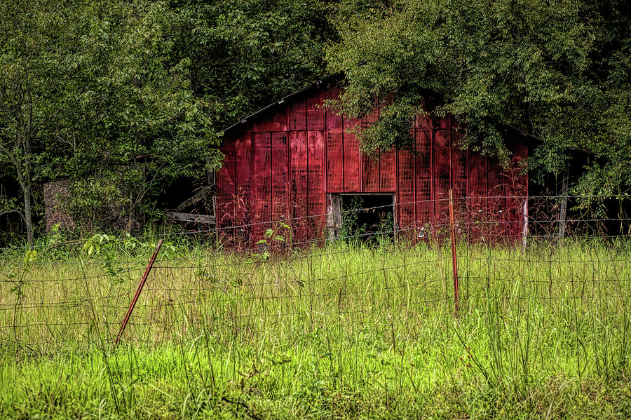 Small Barn 3 by Patricia Cale