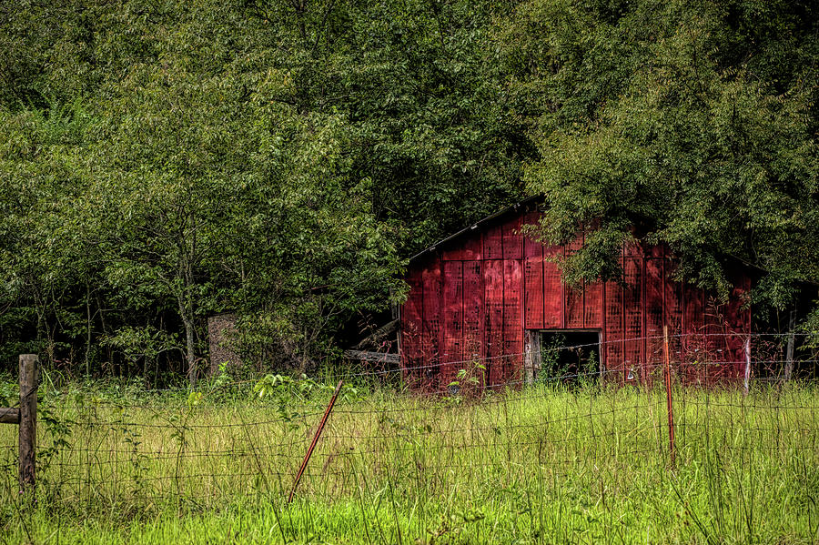 Small Barn by Patricia Cale