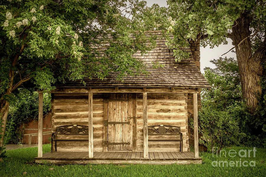 Small Log Cabin   by Imagery by Charly