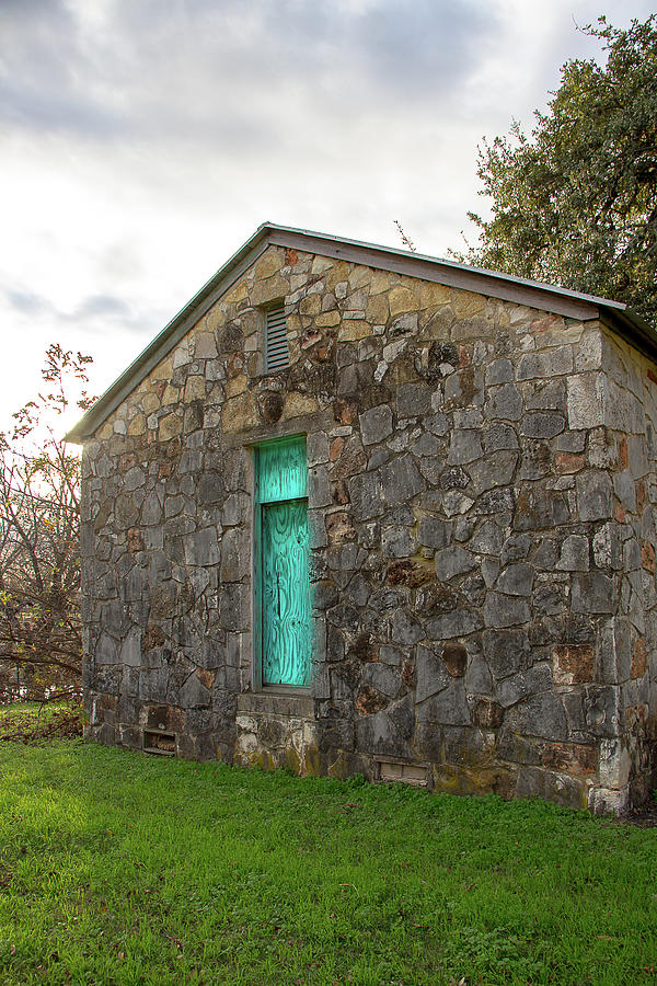 Small Stone Building  by Amy Sorvillo