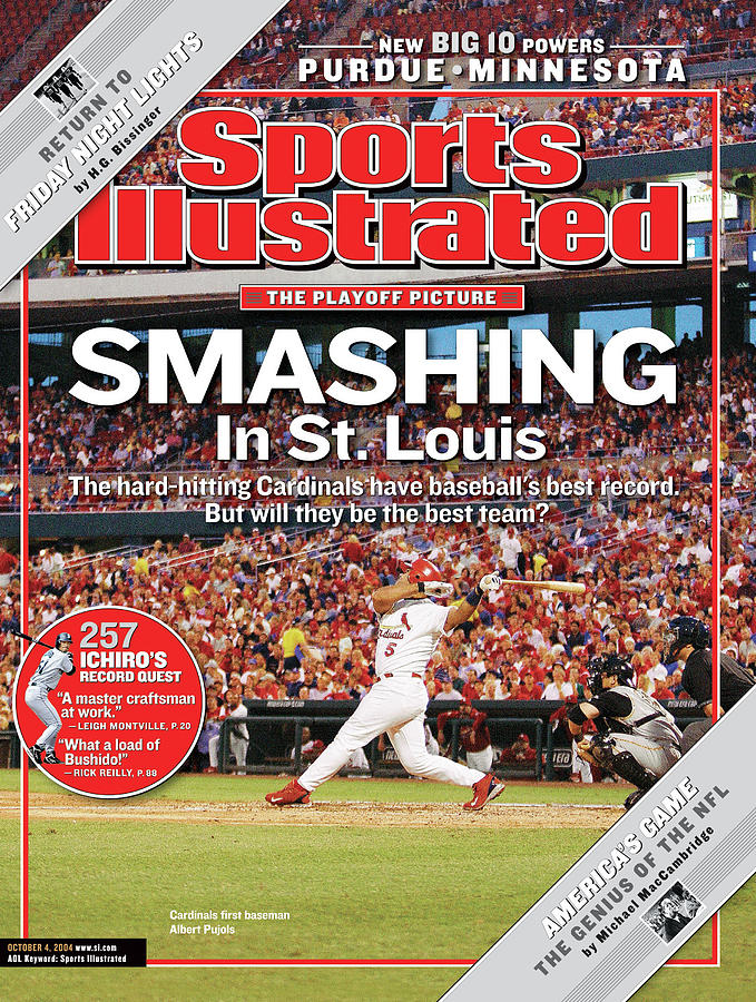 Smashing In St. Louis Sports Illustrated Cover Photograph by Sports Illustrated