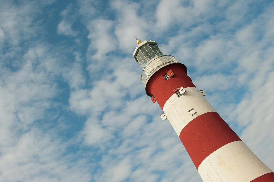 Smeaton's Tower Lighthouse ii by Helen Northcott