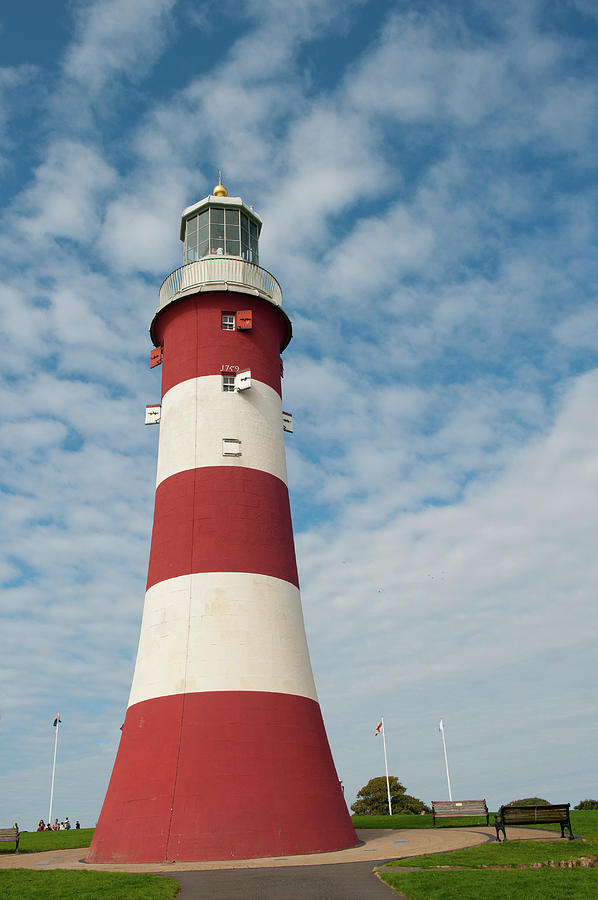 Smeaton's Tower Lighthouse iii by Helen Northcott