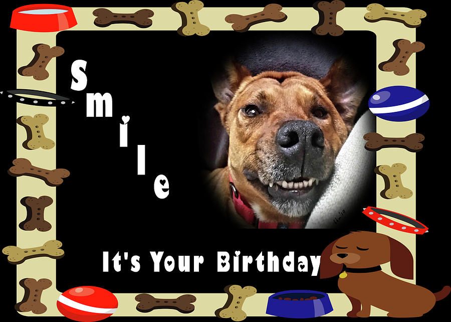 Smile Birthday Card Jackie by Kathy K McClellan