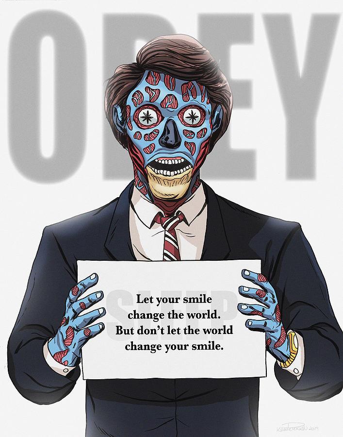 Horror Digital Art - Smile by Kynn Peterkin