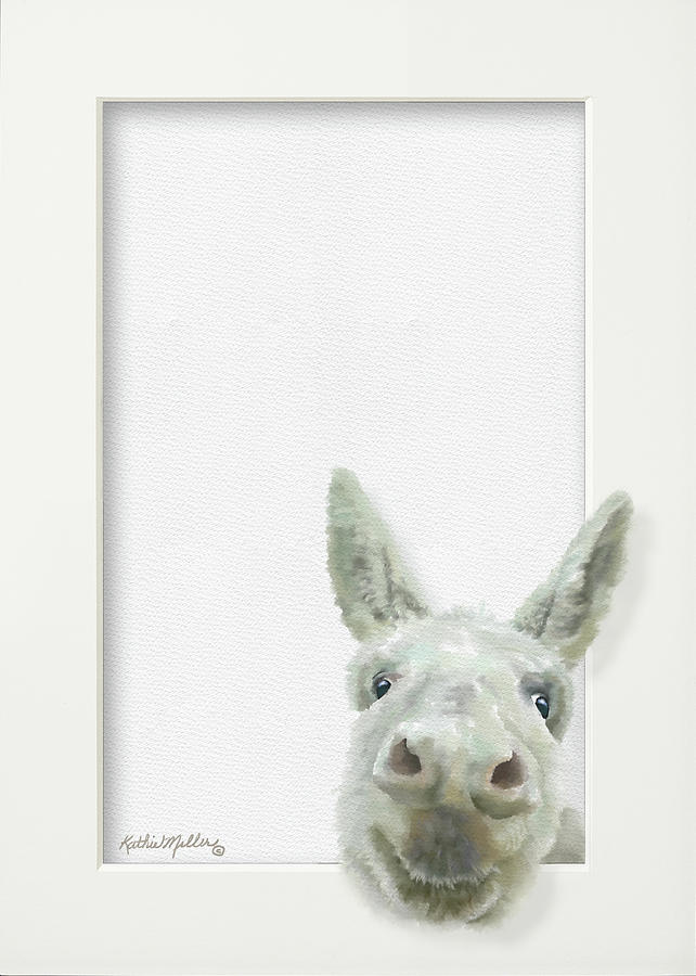 Smiling Donkey by Kathie Miller