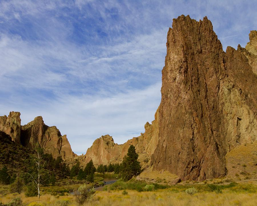 Smith Rock Landscape by Todd Kreuter