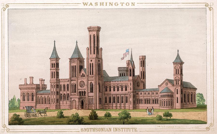 Smithsonian Institute Digital Art by Hulton Archive
