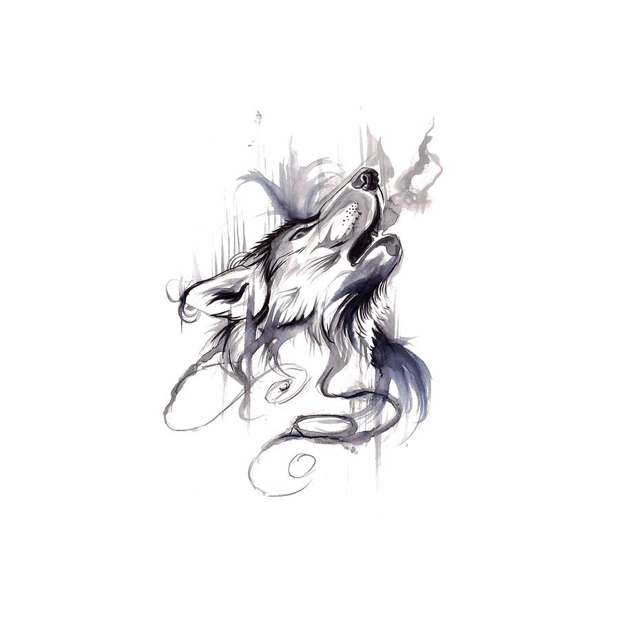 картинка волка из которого выходит дым наконец-то меня