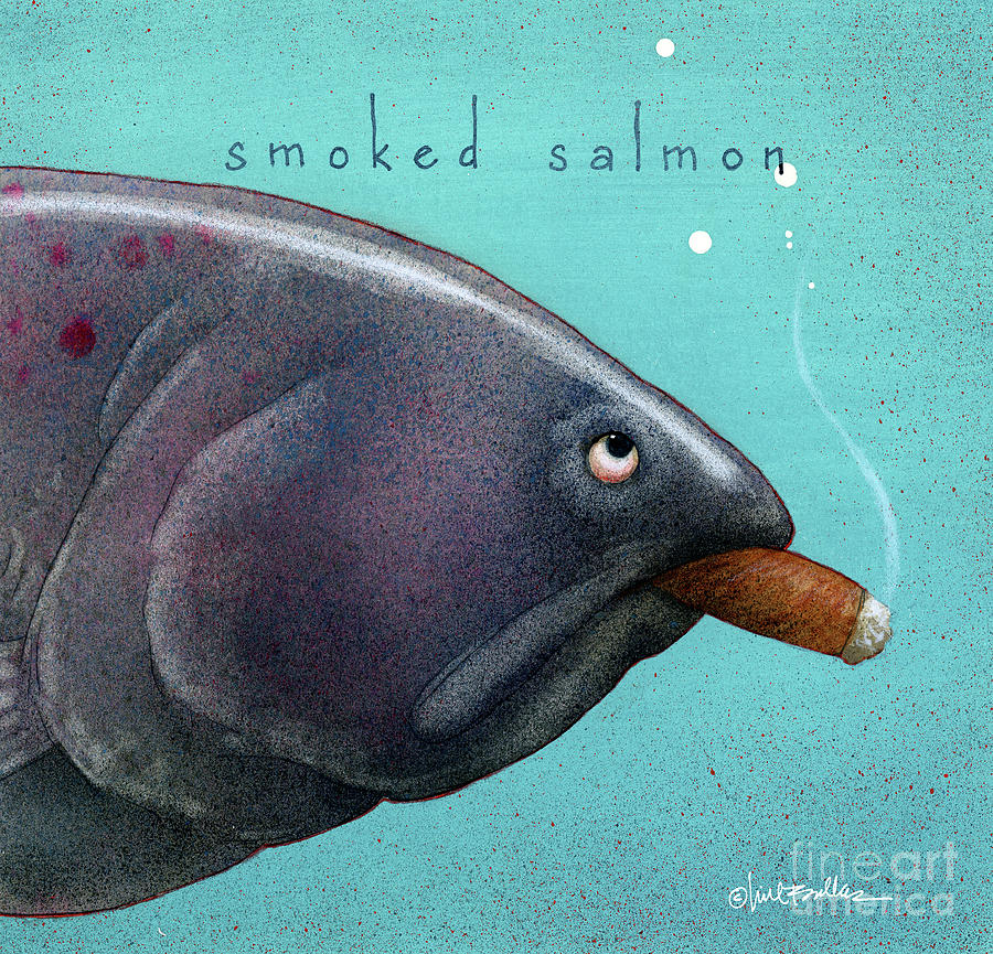 Smoked salmon by Will Bullas