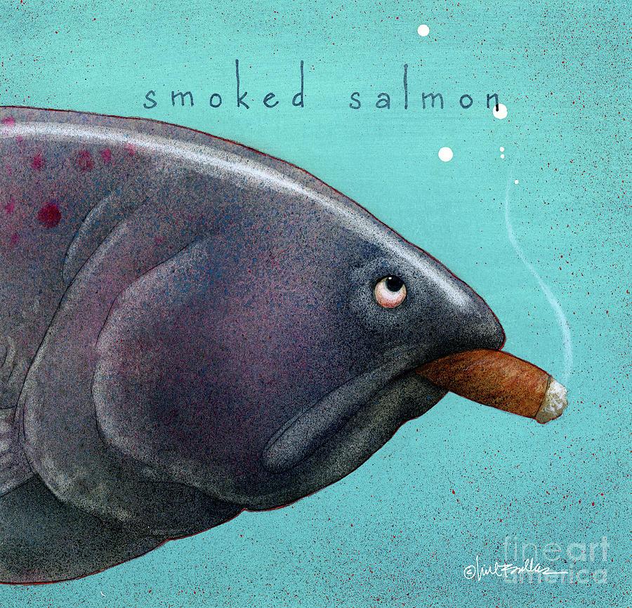 Smoked salmon by Will Bullas