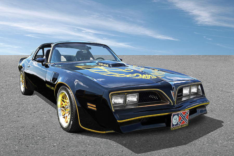 Smokey And The Bandit Trans Am by Gill Billington