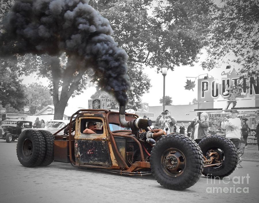 Smokey The Rat Rod Photograph
