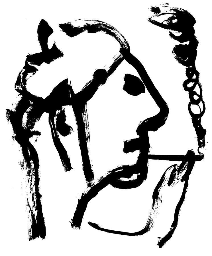 Smoking by Artist Dot