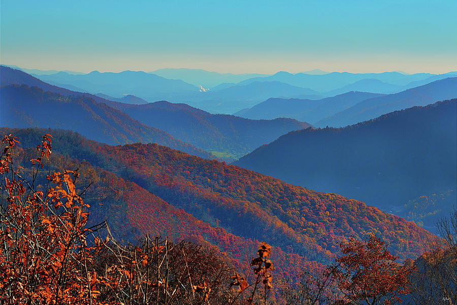 Smoky Mountain Autumn by Greg Norrell