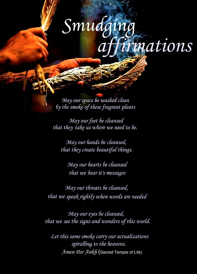 Smudging Affirmations by Adenike AmenRa