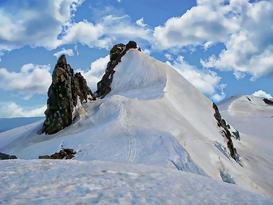 Snaefellsjokull Glacier by Anthony Dezenzio