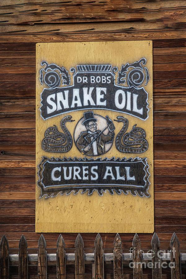 Snake Oil Photograph