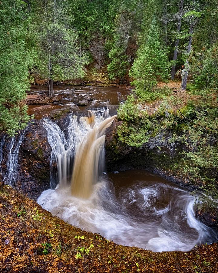 Snake Pit Falls by Brad Bellisle