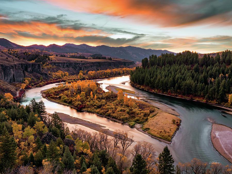 Snake River Autumn Sunrise by Leland D Howard