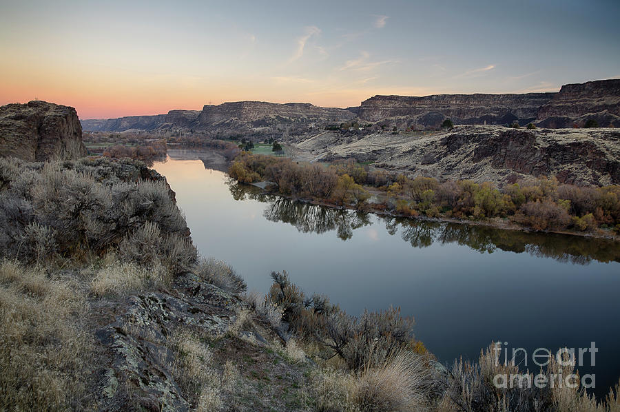 Snake River Dawn by Idaho Scenic Images Linda Lantzy