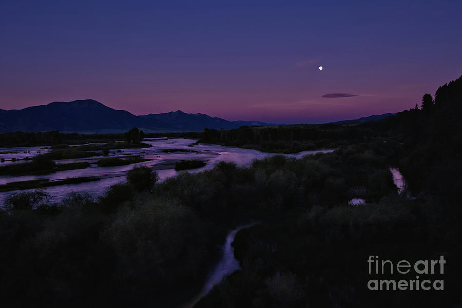 Snake River Moon by Roxie Crouch