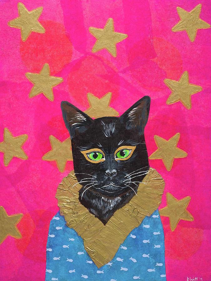 Snazzy Cat by Laelia Watt