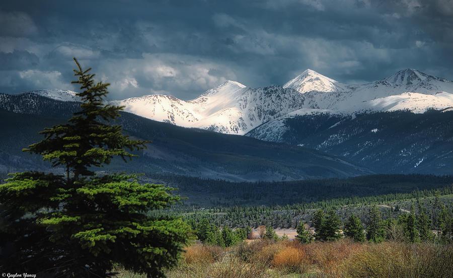 Snow Capped Colorado Rockies by Gaylon Yancy
