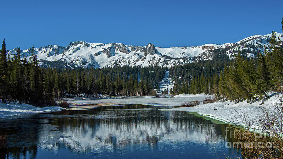 Snow Capped Mammoth Lakes by Stephen Whalen