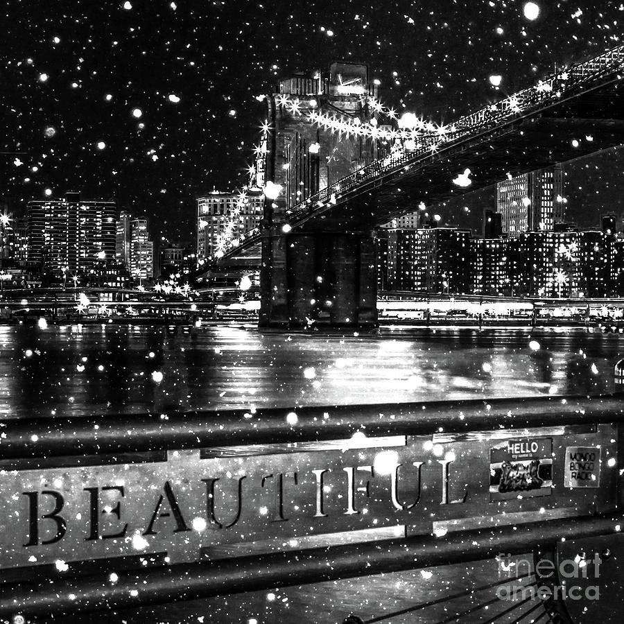Snow Digital Art - Snow Collection Set 09 by Az Jackson