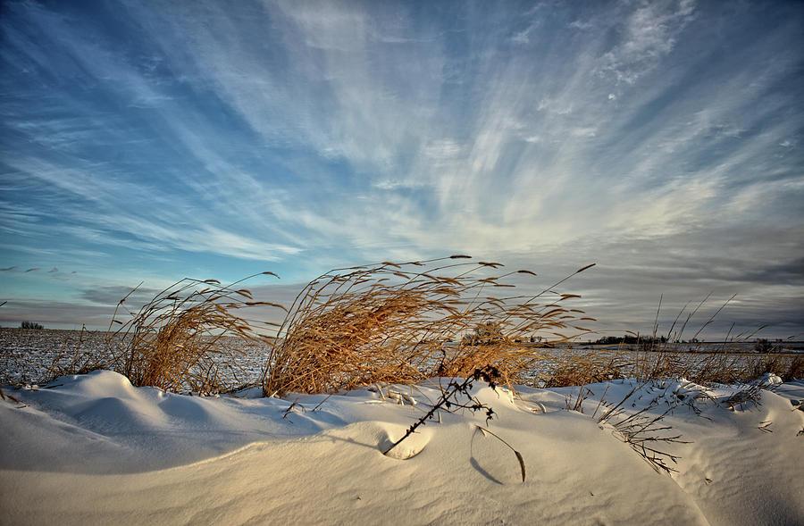 Dunes Photograph - Snow Dunes by Bonfire Photography