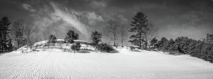 Snow Ripples by Guy Whiteley