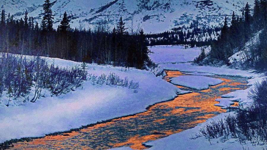 Snow River by Russ Harris