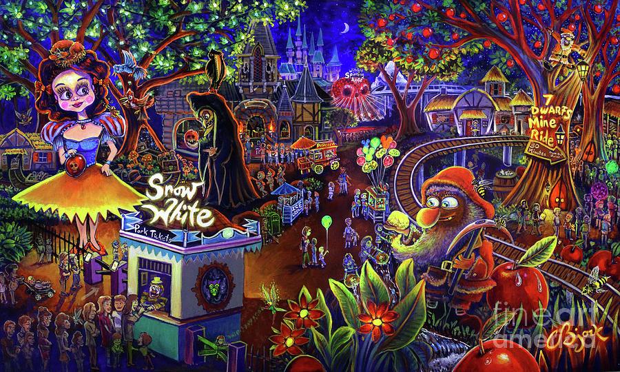 Snow White Amusement Park by CBjork