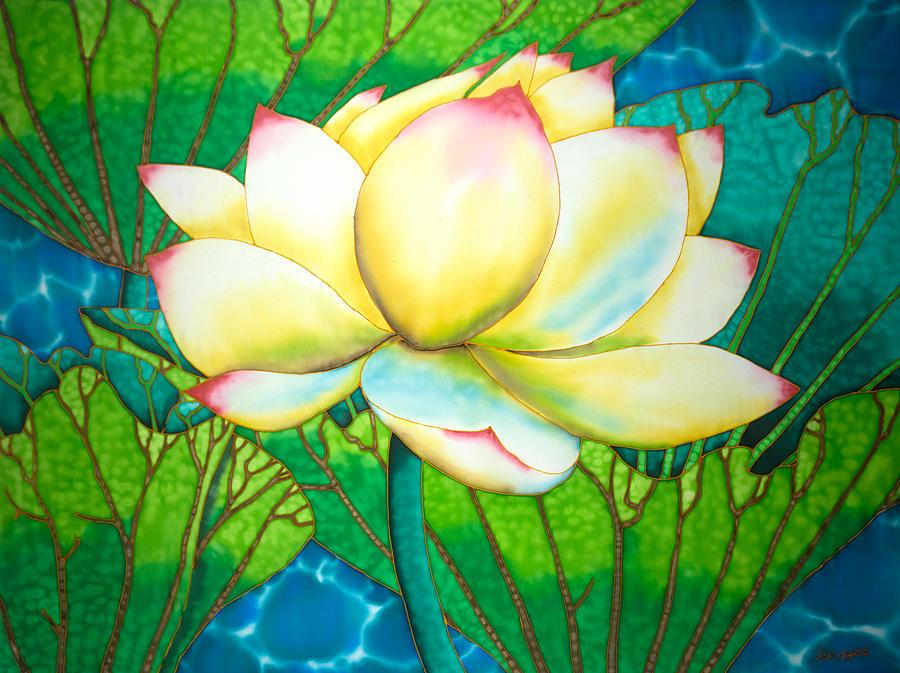 Snow White Lotus by Daniel Jean-Baptiste