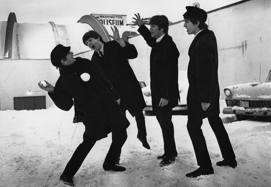 Snowball Beatles Photograph by Central Press