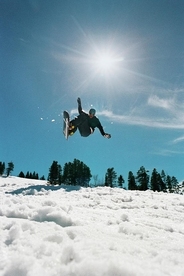 Snowboarder Photograph by Seth Goldfarb